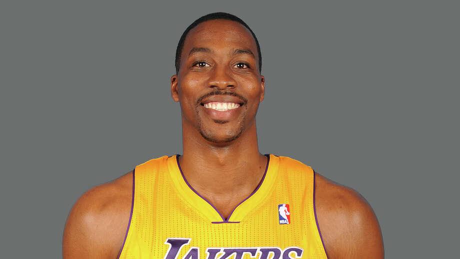 Dwight Howard Los Angeles Lakers  2012 NBA photo Photo: NA