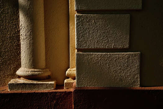 The San Pedro Park Branch Library is San Antonio's oldest branch library. It is one of 10 buildings recognized by the San Antonio Conservation Society for outstanding restoration. The building was designed by Atlee and Robert Ayres. Building side facade shot Wednesday, April 23, 2008. Photo: NICOLE FRUGE, SAN ANTONIO EXPRESS-NEWS / SAN ANTONIO EXPRESS-NEWS