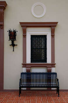 The San Pedro Park Branch Library is San Antonio's oldest branch library. It is one of 10 buildings recognized by the San Antonio Conservation Society for outstanding restoration. The building was designed by Atlee and Robert Ayres. Front entrance shot on Wednesday, April 23, 2008. Photo: NICOLE FRUGE, SAN ANTONIO EXPRESS-NEWS / SAN ANTONIO EXPRESS-NEWS