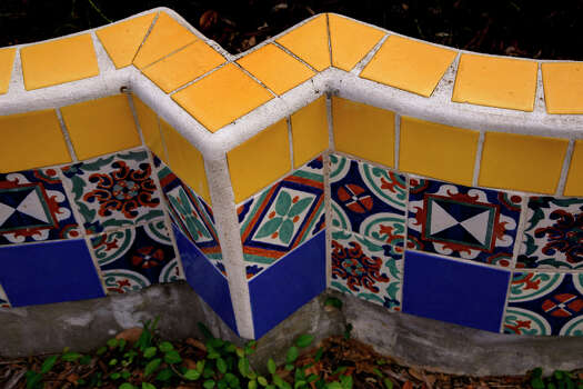 The San Pedro Park Branch Library is San Antonio's oldest branch library. It is one of 10 buildings recognized by the San Antonio Conservation Society for outstanding restoration. The building was designed by Atlee and Robert Ayres. Planter shot on Wednesday, April 23, 2008. Photo: NICOLE FRUGE, SAN ANTONIO EXPRESS-NEWS / SAN ANTONIO EXPRESS-NEWS