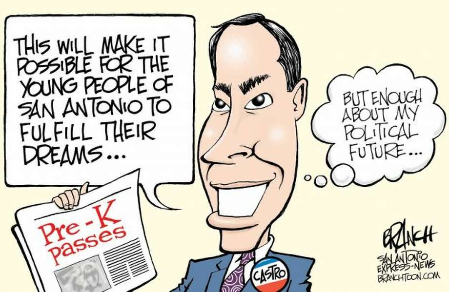 Enough about me ...  (John Branch / San Antonio Express News)
