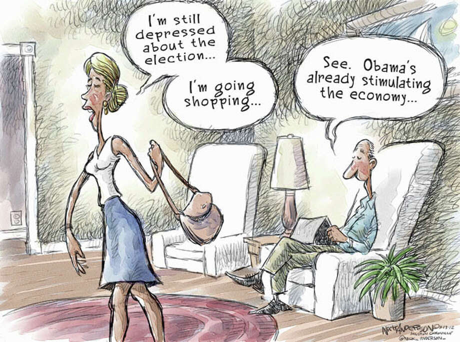 Marital Discord (Nick Anderson / Houston Chronicle)