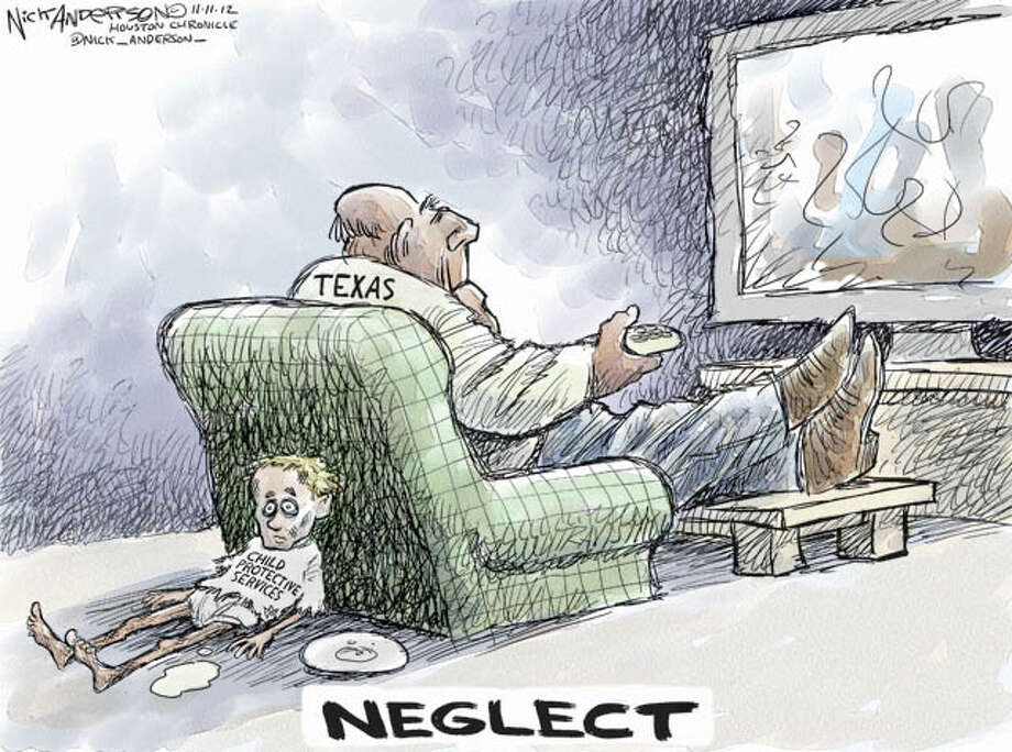 Child Protective Services (Nick Anderson / Houston Chronicle)