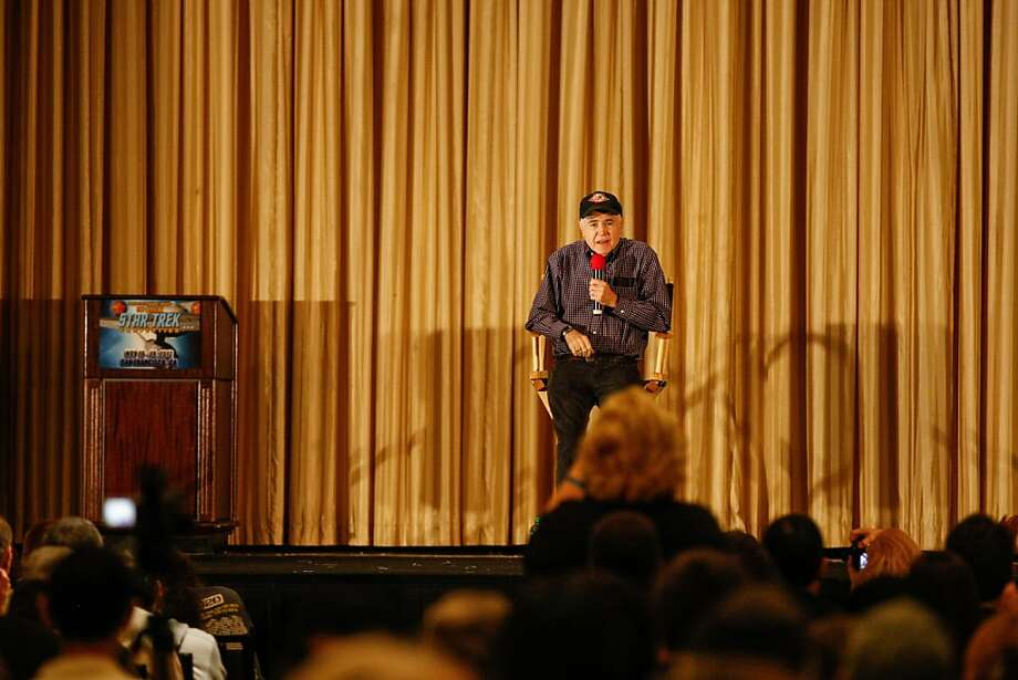Walter Koenig who played the role of Chekov in the Star Trek series made a special appearance Saturday evening during the Official Star Trek Convention in San Francisco at the Westin St. Francis. Photo: Rashad Sisemore, The Chronicle