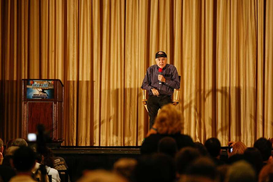 Walter Koenig who played the role of Chekov in the Star Trek series made a special appearance Saturd