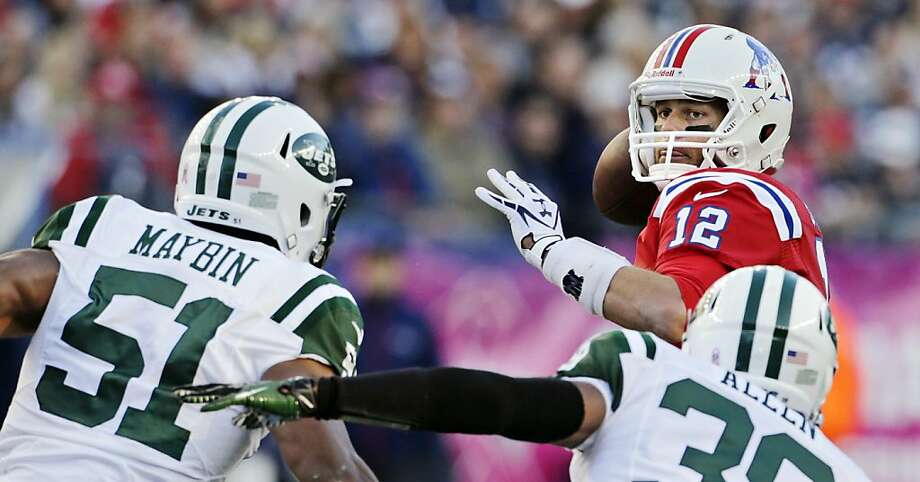 New England at NY Jets — 5:20 pm PST — NBC  Photo: Charles Krupa, Associated Press