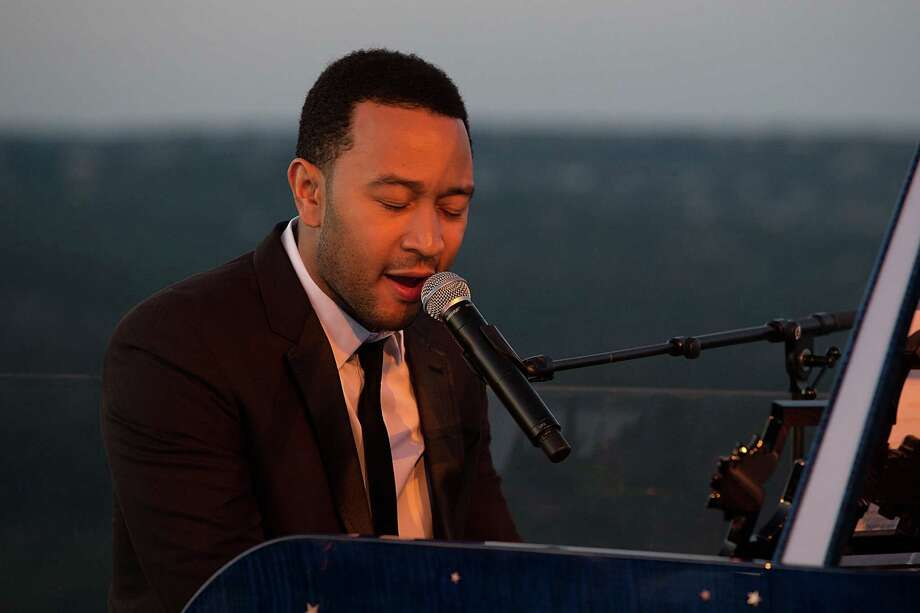 John Legend will sing the national anthem at Sunday's All-Star game.  Photo: Rick Kern, Getty Images For Laureus / 2012 Getty Images
