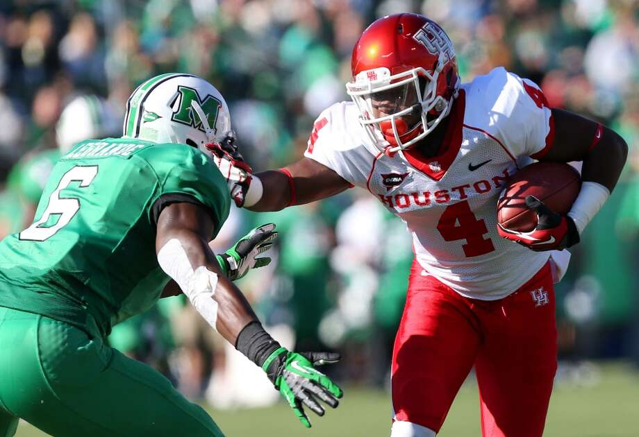 8. Houston  (4-7, next game Saturday vs. Tulane) — Tony Levine's seat is getting toasty after loss at Marshall ensures the Cougars will miss out on a bowl trip for only the second time in eight seasons. (Mark Webb/The Herald-Dispatch / Associated Press)