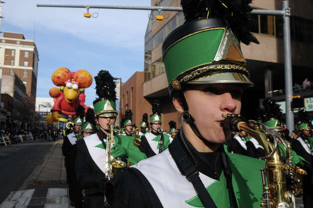 The UBS Parade Spectacular in Stamford, Conn., Nov. 18, 2012. Photo: Keelin Daly / Stamford Advocate Freelance