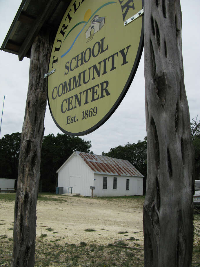 The historic Turtle Creek School buildingÊin Kerr County Photo: San Antonio Express-News