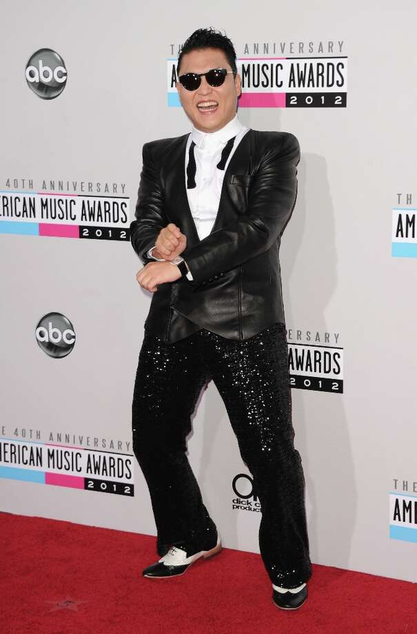 Singer Psy attends the 40th American Music Awards held at Nokia Theatre L.A. Live on November 18, 2012 in Los Angeles, California.  (Photo by Jason Merritt/Getty Images) Photo: Jason Merritt, Getty Images / 2012 Getty Images