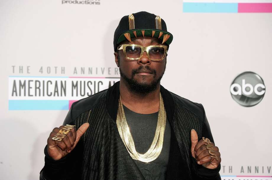 Singer will.i.am attends the 40th American Music Awards held at Nokia Theatre L.A. Live on November 18, 2012 in Los Angeles, California.  (Photo by Jason Merritt/Getty Images) Photo: Jason Merritt, Getty Images / 2012 Getty Images