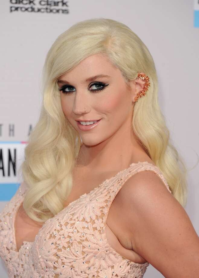 Singer Kesha attends the 40th American Music Awards held at Nokia Theatre L.A. Live on November 18, 2012 in Los Angeles, California.  (Photo by Jason Merritt/Getty Images) Photo: Jason Merritt, Getty Images / 2012 Getty Images
