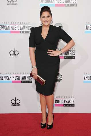 Singer Hillary Scott of Lady Antebellum attends the 40th American Music Awards held at Nokia Theatre L.A. Live on November 18, 2012 in Los Angeles, California.  (Photo by Jason Merritt/Getty Images) Photo: Jason Merritt, Getty Images / 2012 Getty Images