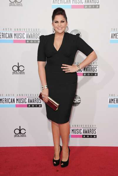 Singer Hillary Scott of Lady Antebellum attends the 40th American Music Awards held at Nokia Theatre