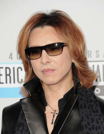 Singer Yoshiki Hayashi attends the 40th American Music Awards held at Nokia Theatre L.A. Live on November 18, 2012 in Los Angeles, California.  (Photo by Jason Merritt/Getty Images) Photo: Jason Merritt, Getty Images / 2012 Getty Images