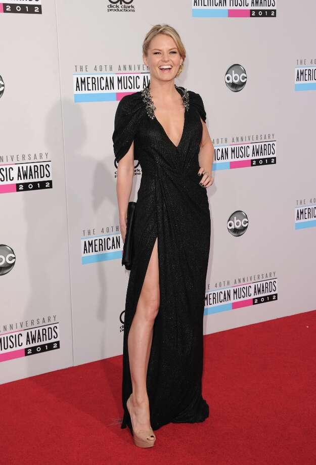 Actress Jennifer Morrison attends the 40th American Music Awards held at Nokia Theatre L.A. Live on November 18, 2012 in Los Angeles, California.  (Photo by Jason Merritt/Getty Images) Photo: Jason Merritt, Getty Images / 2012 Getty Images