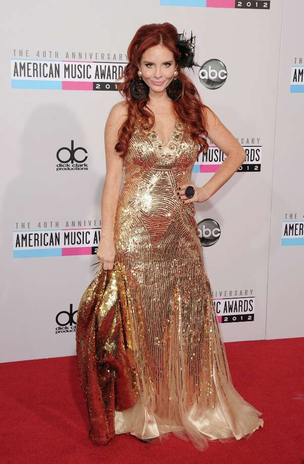 Phoebe Price attends the 40th American Music Awards held at Nokia Theatre L.A. Live on November 18, 2012 in Los Angeles, California.  (Photo by Jason Merritt/Getty Images) Photo: Jason Merritt, Getty Images / 2012 Getty Images