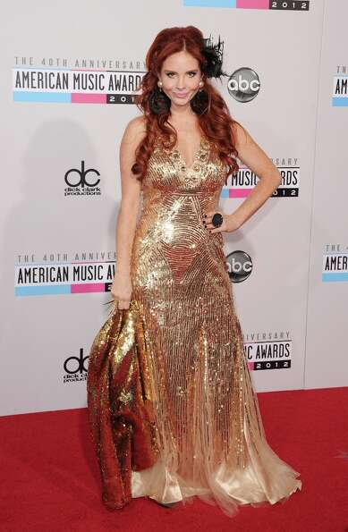 Phoebe Price attends the 40th American Music Awards held at Nokia Theatre L.A. Live on November 18,