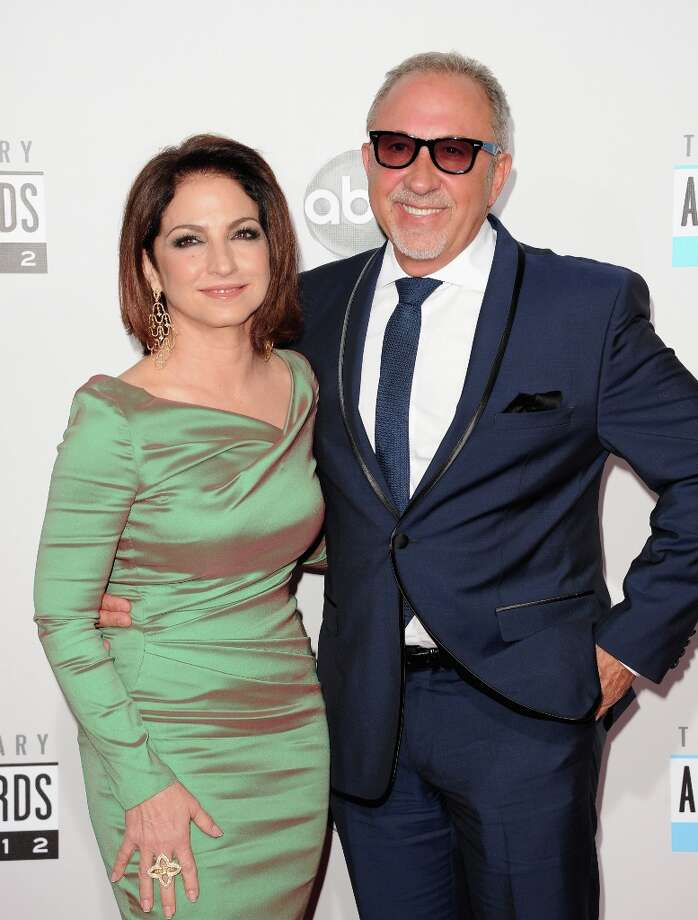 Singer Gloria Estefan and musician Emilio Estefan attend the 40th American Music Awards held at Nokia Theatre L.A. Live on November 18, 2012 in Los Angeles, California.  (Photo by Jason Merritt/Getty Images) Photo: Jason Merritt, Getty Images / 2012 Getty Images