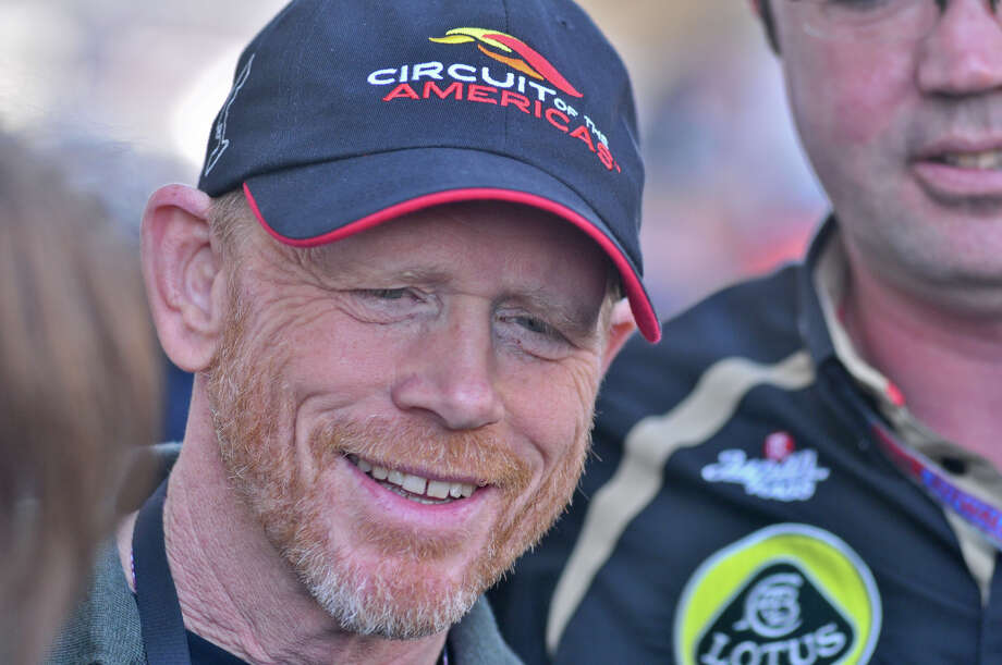 Film director Ron Howard was in attendance at the United States Grand Prix Sunday at the Circuit of the America's in Austin. Photo: Express-News