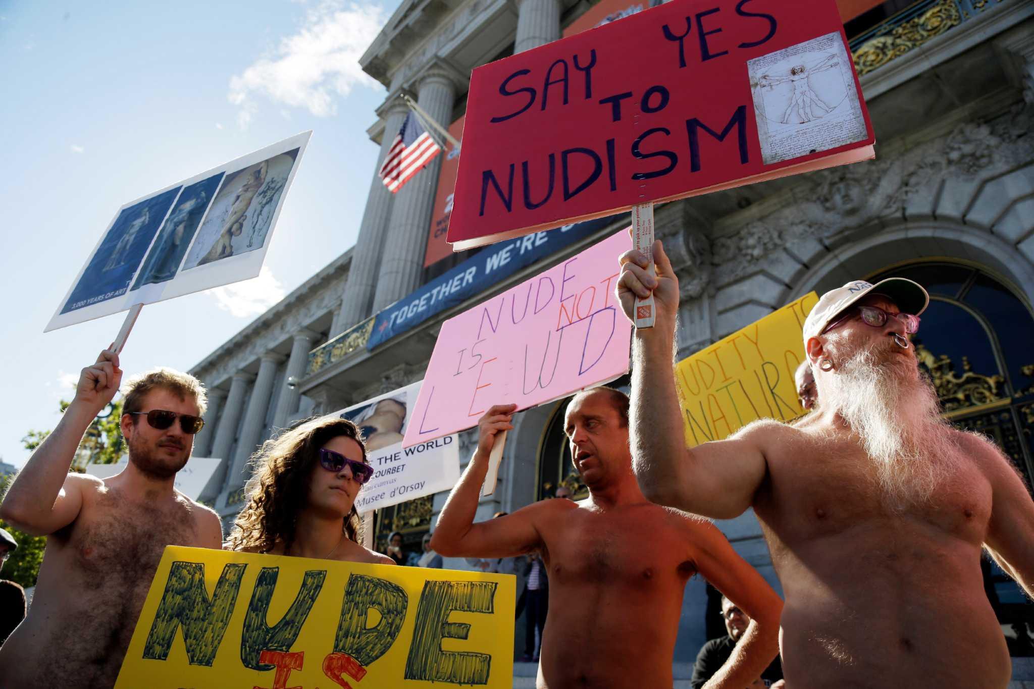 naked public nudity