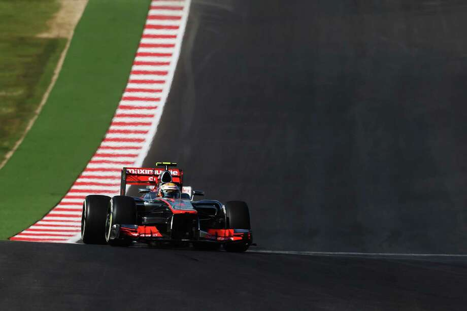 Lewis Hamilton of Great Britain and McLaren drives during the United States Formula One Grand Prix at the Circuit of the Americas on November 18, 2012 in Austin, Texas. Photo: Mark Thompson, Getty Images / 2012 Getty Images
