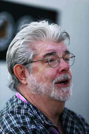 Hollywood director George Lucas attends the United States Formula One Grand Prix at the Circuit of the Americas on November 18, 2012 in Austin, Texas. Photo: Clive Mason, Getty Images / 2012 Getty Images