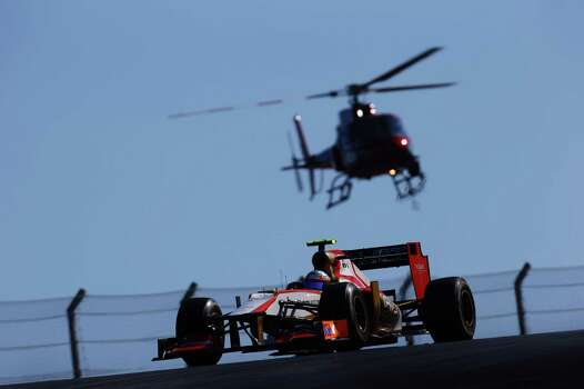 Narain Karthikeyan of India and Hispania Racing Team drives during the United States Formula One Grand Prix at the Circuit of the Americas on November 18, 2012 in Austin, Texas. Photo: Paul Gilham, Getty Images / 2012 Getty Images