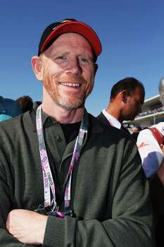 AUSTIN, TX - NOVEMBER 18:  Film director Ron Howard attends the United States Formula One Grand Prix at the Circuit of the Americas on November 18, 2012 in Austin, Texas. Photo: Mark Thompson, Getty Images / 2012 Getty Images