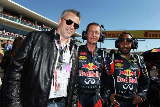 AUSTIN, TX - NOVEMBER 18:  Actor Matt LeBlanc attends the United States Formula One Grand Prix at the Circuit of the Americas on November 18, 2012 in Austin, Texas. Photo: Mark Thompson, Getty Images / 2012 Getty Images