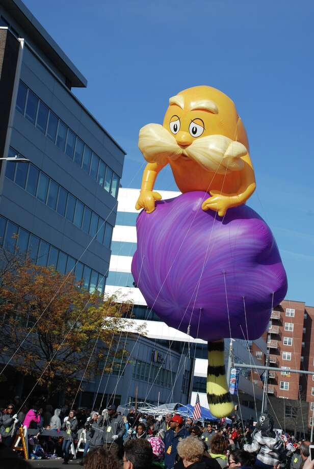 Stamford UBS balloon parade November 18th, 2012 Photo: Michael Spero / Hearst Connecticut Media Group