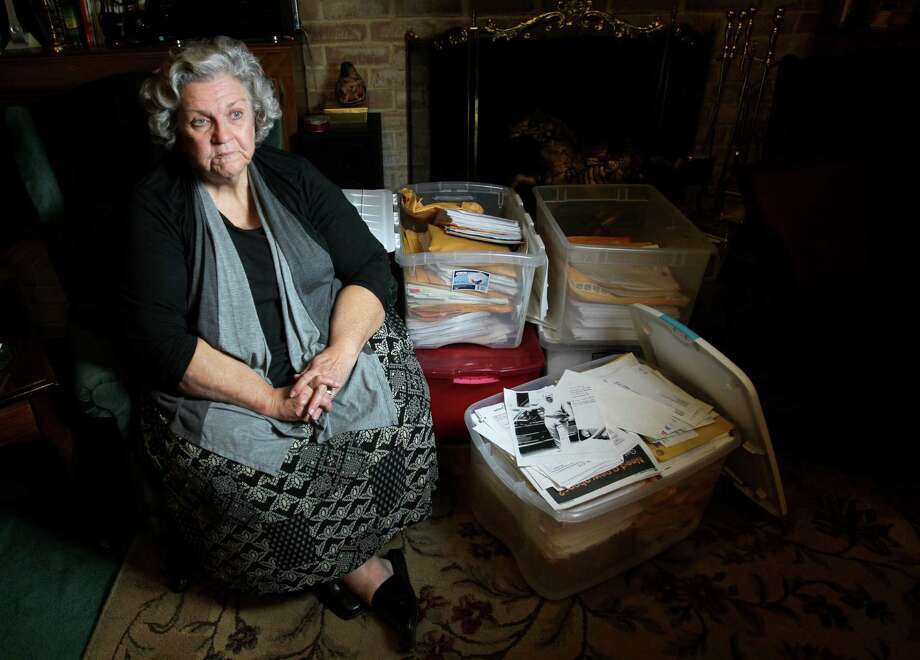 Linda Pugh of Houston has been fighting to have her husband, Donald, released on medical parole after he was diagnosed with throat cancer in July 2009. Donald Pugh was convicted of manslaughter for a car crash that killed a woman. Photo: Melissa Phillip, Staff / © 2012 Houston Chronicle