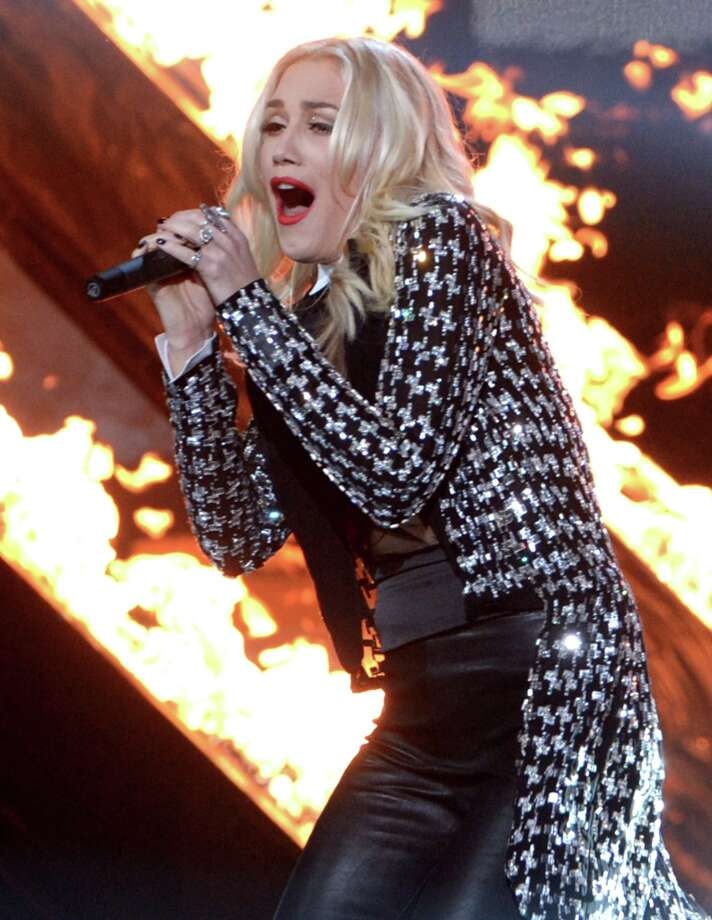 Singer Gwen Stefani of No Doubt performs onstage during the 40th American Music Awards held at Nokia Theatre L.A. Live on November 18, 2012 in Los Angeles, California.  (Photo by Kevin Winter/Getty Images) Photo: Kevin Winter, Getty Images / 2012 Getty Images