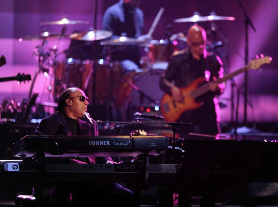 Musician Stevie Wonder performs onstage during the 40th American Music Awards held at Nokia Theatre L.A. Live on November 18, 2012 in Los Angeles, California.  (Photo by Kevin Winter/Getty Images) Photo: Kevin Winter, Getty Images / 2012 Getty Images
