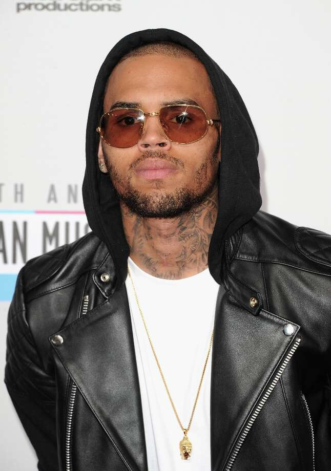 Singer Chris Brown attends the 40th American Music Awards held at Nokia Theatre L.A. Live on November 18, 2012 in Los Angeles, California.  (Photo by Jason Merritt/Getty Images) Photo: Jason Merritt, Getty Images / 2012 Getty Images