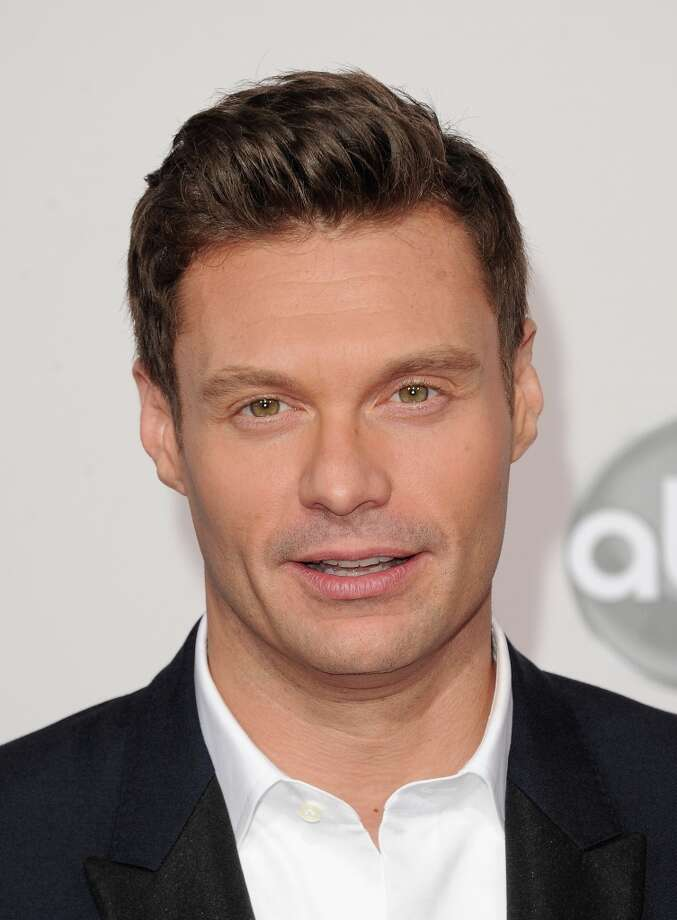 TV host Ryan Seacrest attends the 40th American Music Awards held at Nokia Theatre L.A. Live on November 18, 2012 in Los Angeles, California.  (Photo by Jason Merritt/Getty Images) Photo: Jason Merritt, Getty Images / 2012 Getty Images