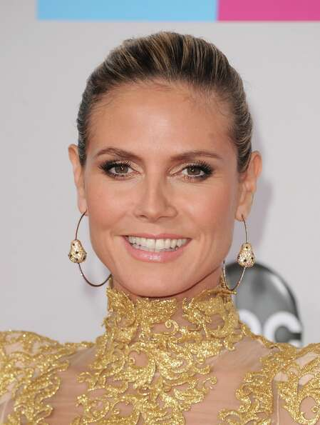 TV personality Heidi Klum attends the 40th American Music Awards held at Nokia Theatre L.A. Live on