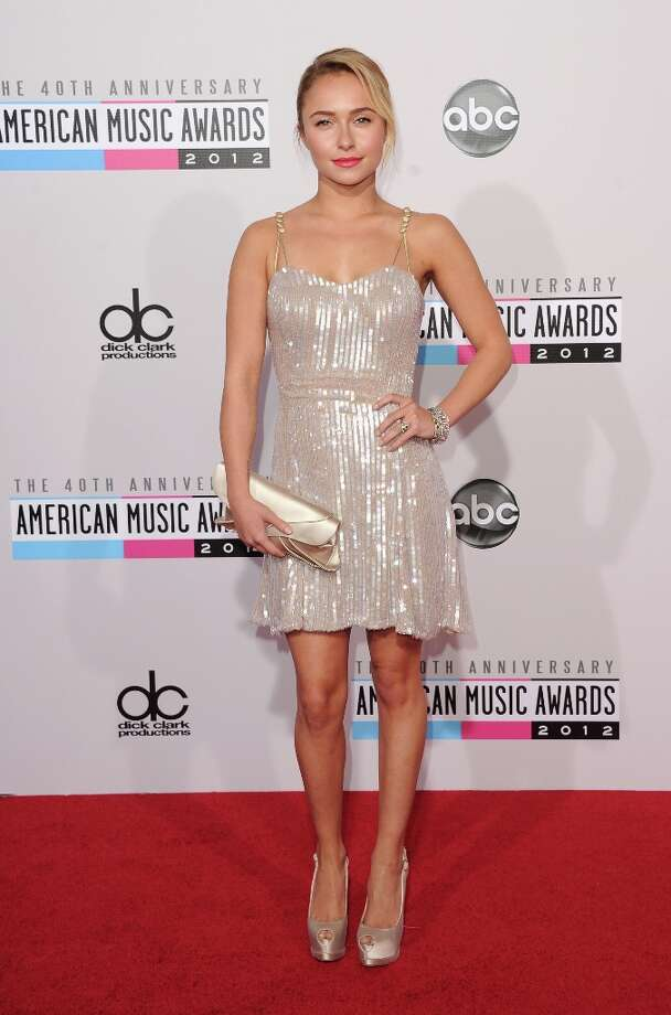 Actress Hayden Panettiere attends the 40th American Music Awards held at Nokia Theatre L.A. Live on November 18, 2012 in Los Angeles, California.  (Photo by Jason Merritt/Getty Images) Photo: Jason Merritt, Getty Images / 2012 Getty Images
