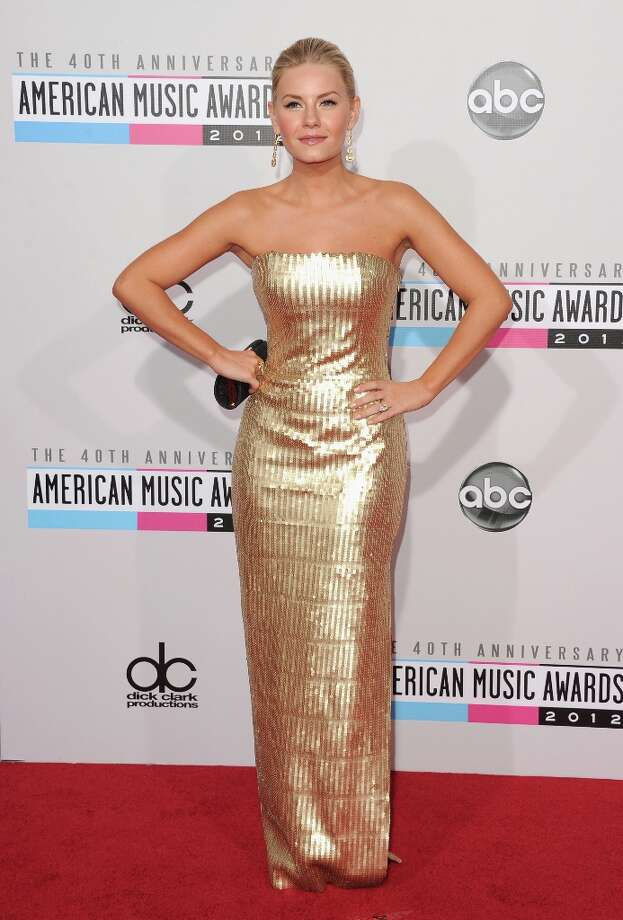 Actress Elisha Cuthbert attends the 40th American Music Awards held at Nokia Theatre L.A. Live on November 18, 2012 in Los Angeles, California.  (Photo by Jason Merritt/Getty Images) Photo: Jason Merritt, Getty Images / 2012 Getty Images