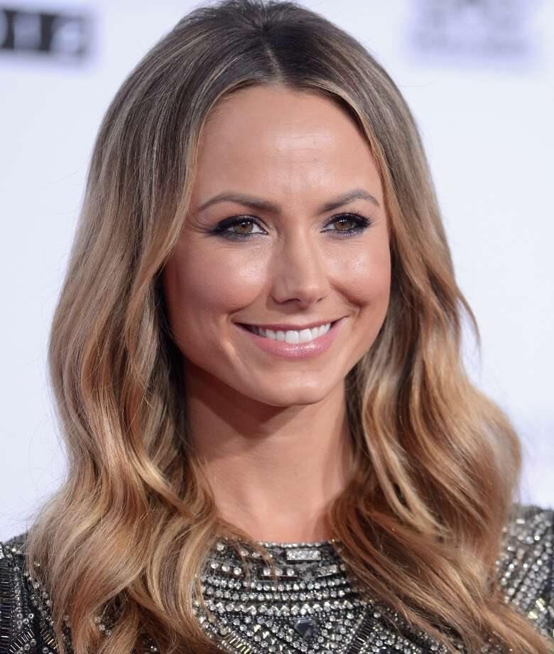 Actress Stacy Keibler attends the 40th American Music Awards held at Nokia Theatre L.A. Live on November 18, 2012 in Los Angeles, California.  (Photo by Jason Merritt/Getty Images) Photo: Jason Merritt, Getty Images / 2012 Getty Images