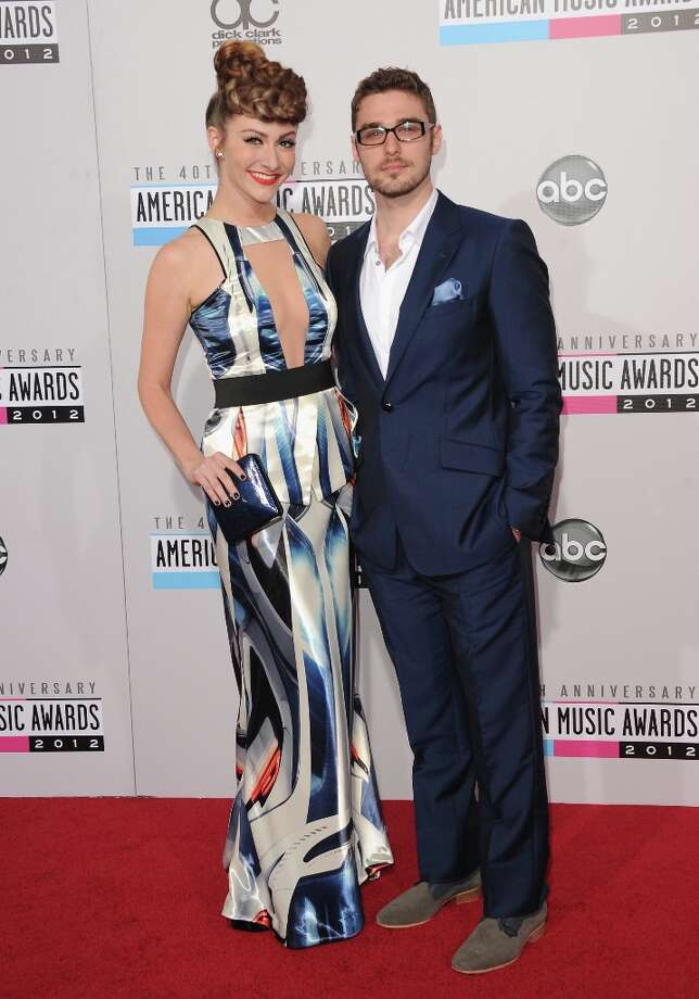 Singers Amy Heidemann and Nick Noonan of Karmin attend the 40th American Music Awards held at Nokia Theatre L.A. Live on November 18, 2012 in Los Angeles, California.  (Photo by Jason Merritt/Getty Images) Photo: Jason Merritt, Getty Images / 2012 Getty Images