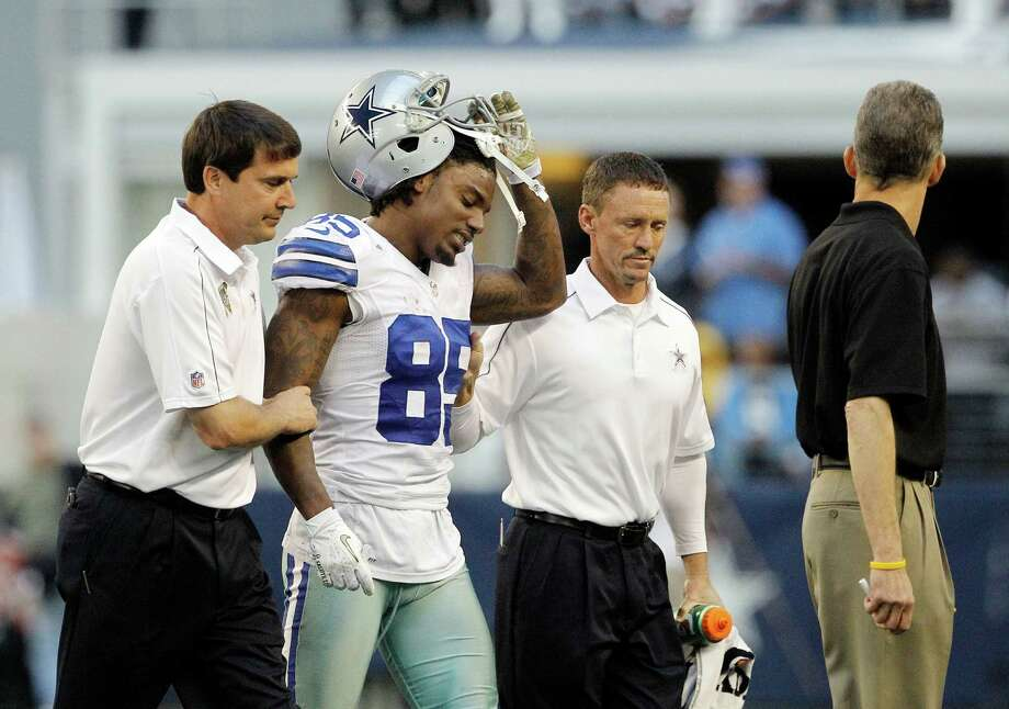 Dallas Cowboys wide receiver Kevin Ogletree suffered a concussion during the second half of the Nov. 18 Browns game and has not returned. Photo: Brandon Wade, Associated Press / FR168019 AP