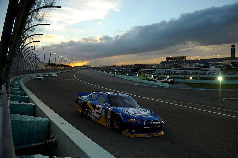 HOMESTEAD, FL - NOVEMBER 18:  Brad Keselowski drives the #2 Miller Lite Dodge during the NASCAR Sprint Cup Series Ford EcoBoost 400 at Homestead-Miami Speedway on November 18, 2012 in Homestead, Florida.  (Photo by Jared C. Tilton/Getty Images for NASCAR) Photo: Jared C. Tilton, Getty Images For NASCAR