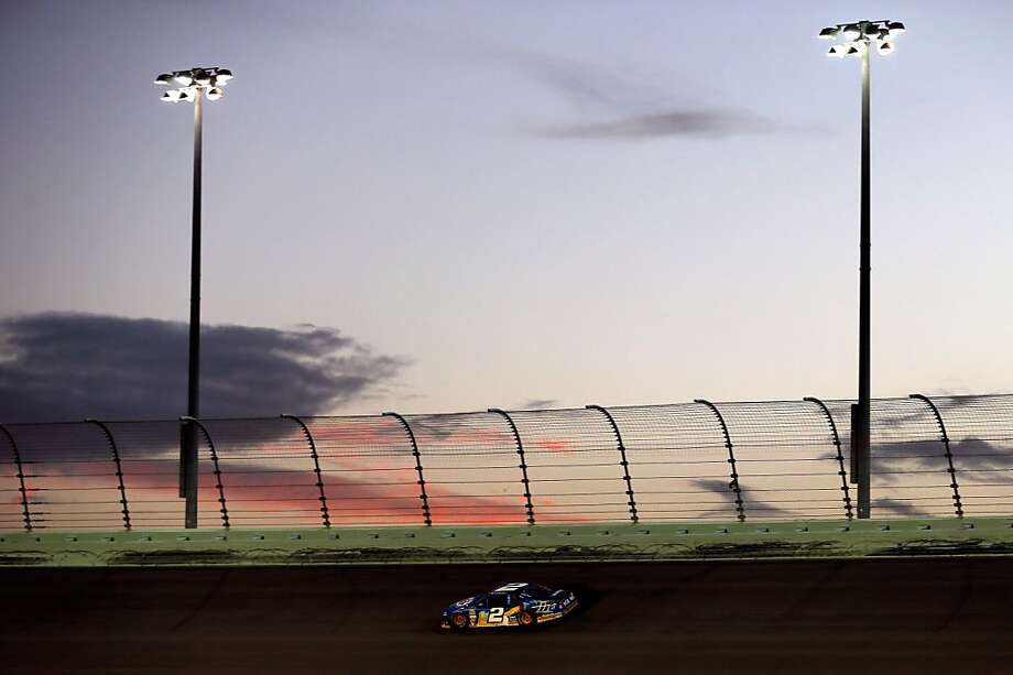 HOMESTEAD, FL - NOVEMBER 18:  Brad Keselowski drives the #2 Miller Lite Dodge during the NASCAR Sprint Cup Series Ford EcoBoost 400 at Homestead-Miami Speedway on November 18, 2012 in Homestead, Florida.  (Photo by Chris Trotman/Getty Images for NASCAR) Photo: Chris Trotman, Getty Images For NASCAR