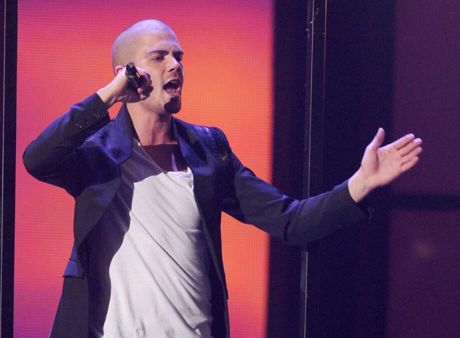 Singer Max George, the heartthrob from the British boy band The Wanted. Photo: Kevin Winter, Getty Images / 2012 Getty Images