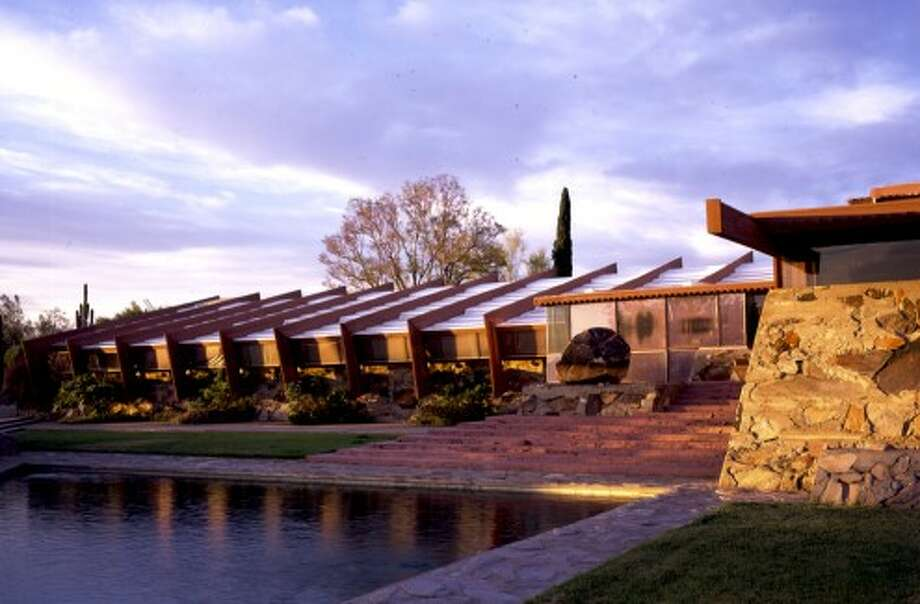 Taliesin West in Scottsdale, Arizona is celebrating its 75th anniversary (Frank Lloyd Wright Foundation / http://www.franklloydwright.org)