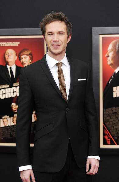 Actor James D'Arcy attends the premiere for