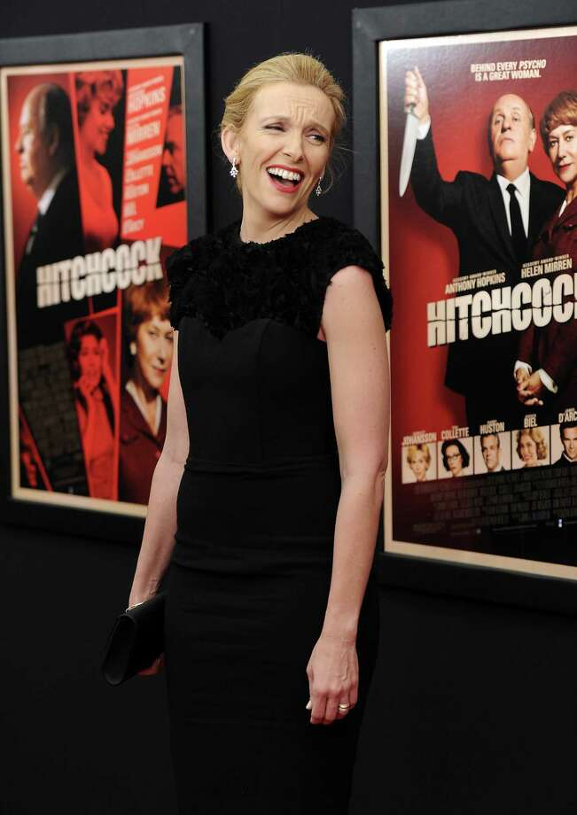 "Actress Toni Collette attends the premiere for ""Hitchcock"" at the Ziegfeld Theatre on Sunday Nov. 18, 2012 in New York. Photo: Evan Agostini, Evan Agostini/Invision/AP / Invision"