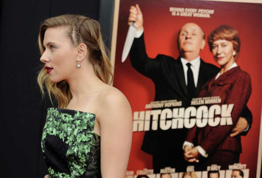 "Actress Scarlett Johansson attends the premiere for ""Hitchcock"" at the Ziegfeld Theatre on Sunday Nov. 18, 2012 in New York. Photo: Evan Agostini, Evan Agostini/Invision/AP / Invision"